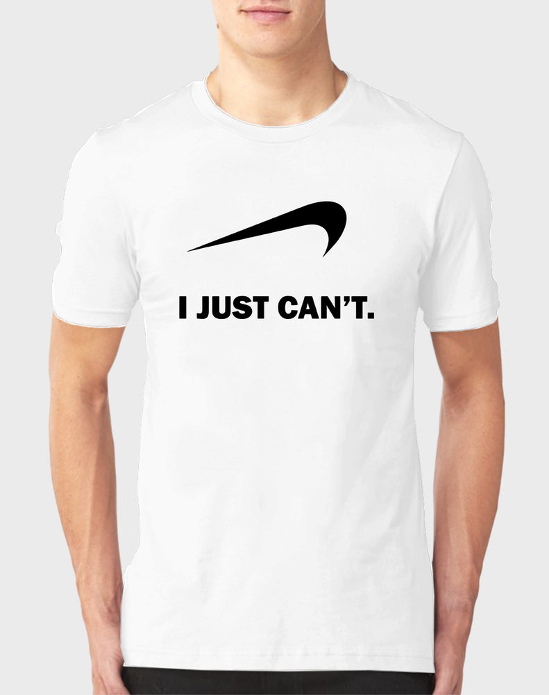 Afrilol I Just Can't Men's T-Shirt