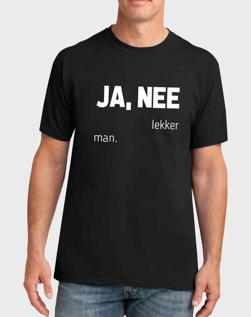 Sarkasties Ja, Nee Lekker Men's T-shirt