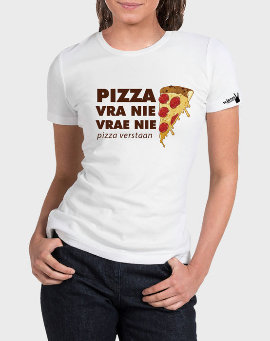 Sarkasties Pizza Vra Nie Women's T-shirt - komedie