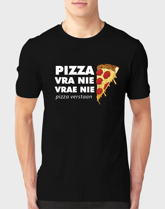 Sarkasties Pizza Vra Nie Men's T-shirt - komedie