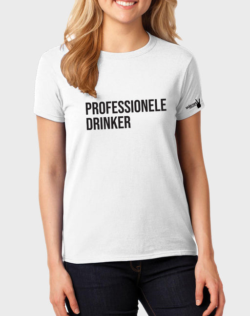 Sarkasties Professionele Drinker Women's T-shirt - komedie