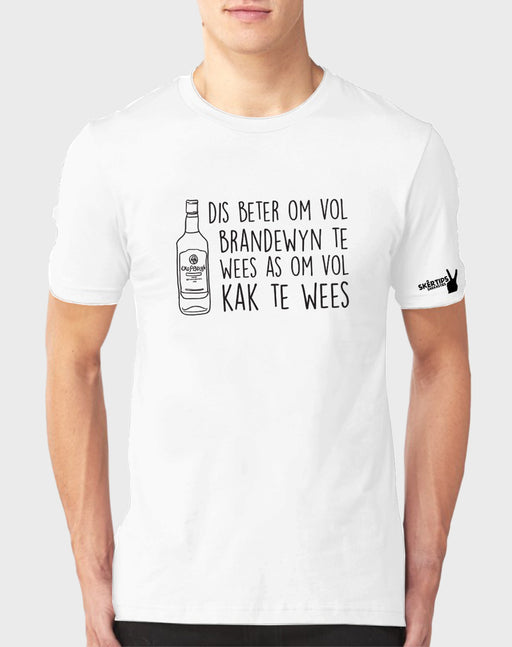 Sarkasties Vol Brandewyn Men's T-shirt