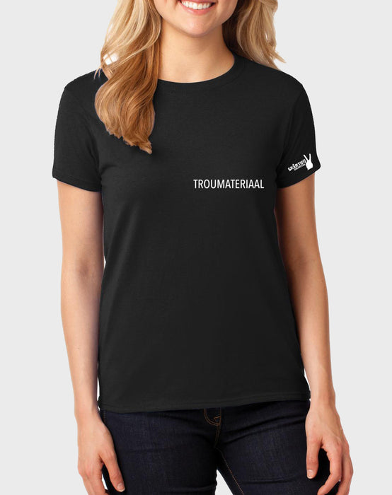 Sarkasties Troumateriaal Women's T-shirt - komedie