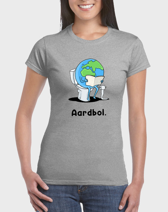 Idees Vol Vrees Aardbol Women's T-shirt