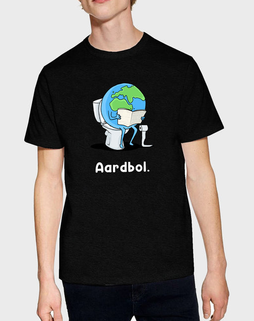 Idees Vol Vrees Aardbol Men's T-shirt