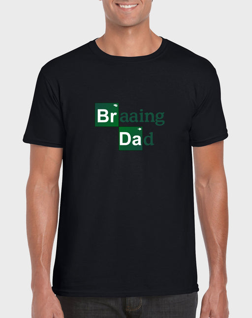 Afrilol Braaing Dad Men's T-shirt - komedie