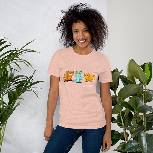 [INTERNASIONAAL] Idees Vol Vrees Kattekwaad Women's T-shirt