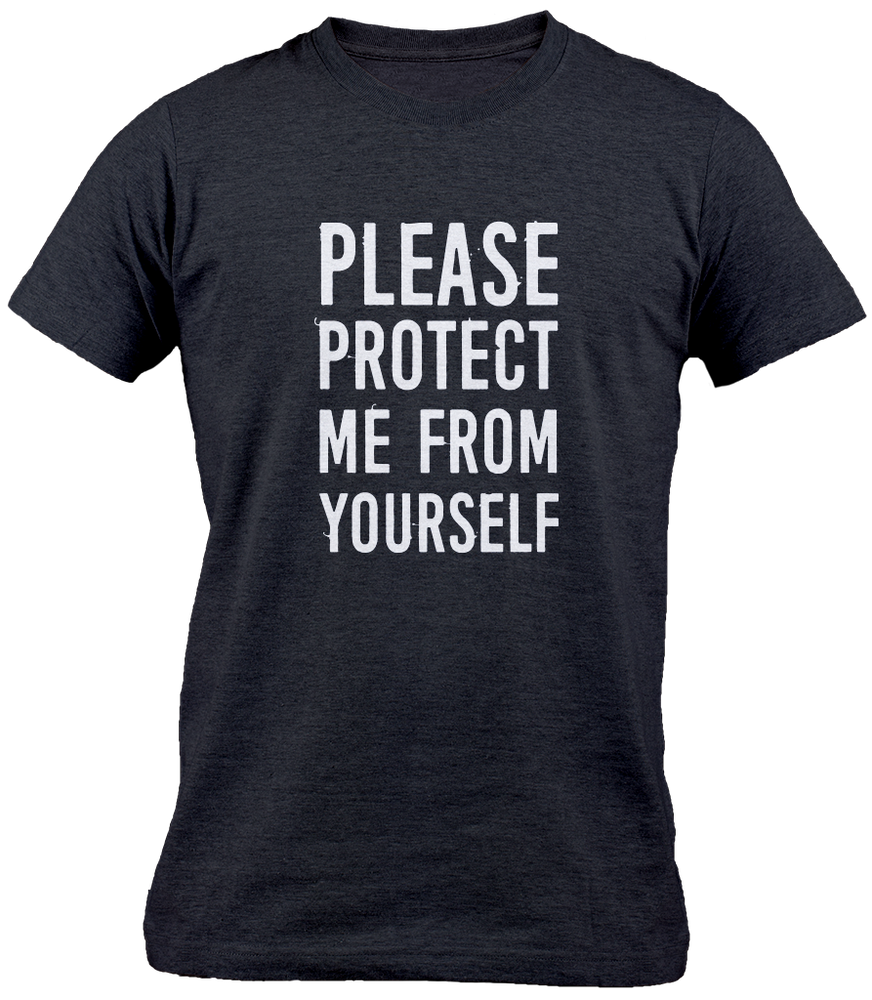 GVLK Please Protect Me T-shirt - komedie