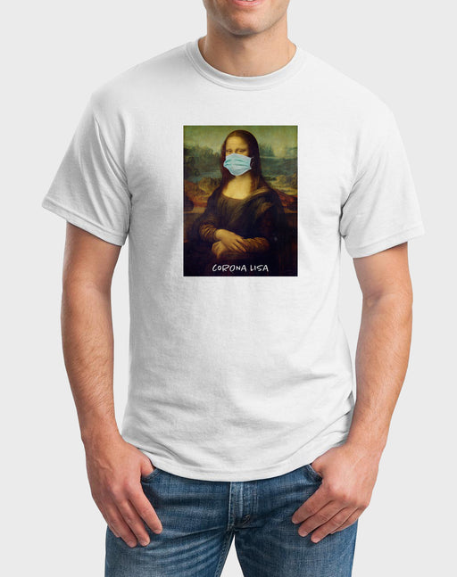 Afrilol Corona Lisa Men's T-shirt