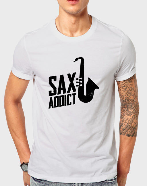Afrilol Sax Addict Men's T-shirt