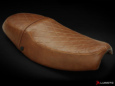 LUIMOTO VINTAGE RIDER SEAT COVERS FOR TRIUMPH THRUXTON 04-15