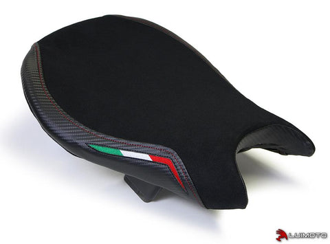 LUIMOTO TEAM ITALIA SUEDE SEAT COVERS FOR DUCATI STREETFIGHTER 09-15 - FOR ORIGNAL SEAT