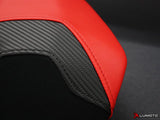 LUIMOTO TEAM ITALIA PASSANGER SEAT COVERS FOR DUCATI PANIGALE 1199 11-15