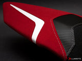 LUIMOTO R EDITION PASSANGER SEAT COVERS FOR DUCATI PANIGALE 1199 11-15