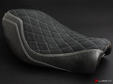 LUIMOTO DIAMOND EDITION RIDER SEAT COVERS FOR HARLEY DAVIDSON SPORTSTER IRON 883 04-15