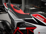 LUIMOTO DIAMOND EDITION RIDER SEAT COVERS FOR DUCATI HYPERMOTARD 13-18