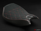 LUIMOTO DIAMOND EDITION RIDER SEAT COVERS FOR DUCATI PANIGALE 1299 15-17