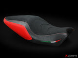 LUIMOTO APEX EDITION RIDER SEAT COVERS FOR DUCATI MONSTER 821 1200 14-16