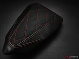 LUIMOTO DIAMOND EDITION PASSANGER SEAT COVERS FOR DUCATI PANIGALE 1299 15-17