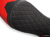 LUIMOTO DIAMOND EDITION MOTORCYCLE SEAT COVERS FOR DUCATI MONSTER 797 17-18