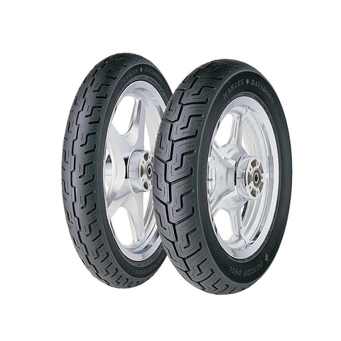 DUNLOP OE STYLE D-401 CRUISER TIRES - BLACK WALL