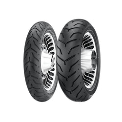 DUNLOP OE STYLE D408/407 MULTI-TREAD BIAS CRUISER TIRES - BLACK WALL