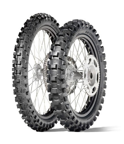 DUNLOP GEOMAX MX-3S SOFT-TO-INTERMEDIATE MOTOCROSS REAR TYRES