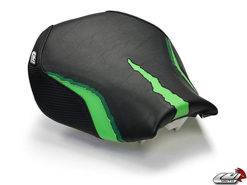 LUIMOTO MONSTER EDITION RIDER SEAT COVERS FOR KAWASAKI ZX-10R 06-07