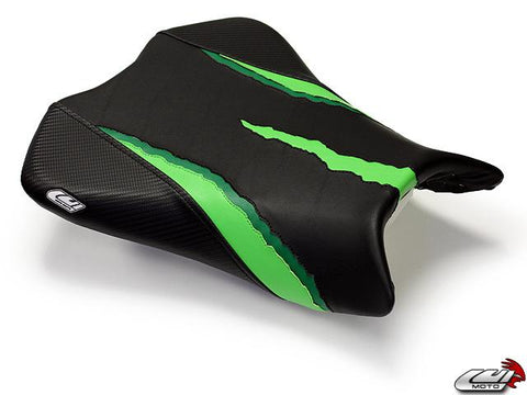 LUIMOTO MONSTER EDITION RIDER SEAT COVERS FOR KAWASAKI ZX-10R 08-10