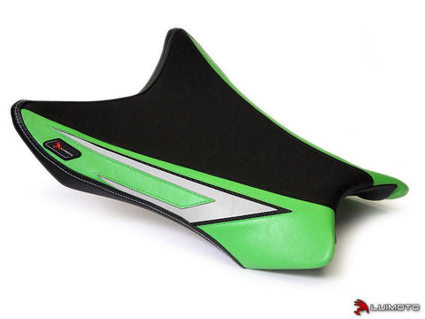 LUIMOTO ANNIVERSARY EDITION RIDER SEAT COVERS FOR KAWASAKI ZX-10R 11-15