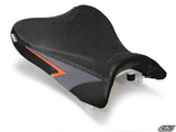 LUIMOTO TEAM SUZUKI RIDER SEAT COVERS FOR SUZUKI GSX-R 600 750 08-10
