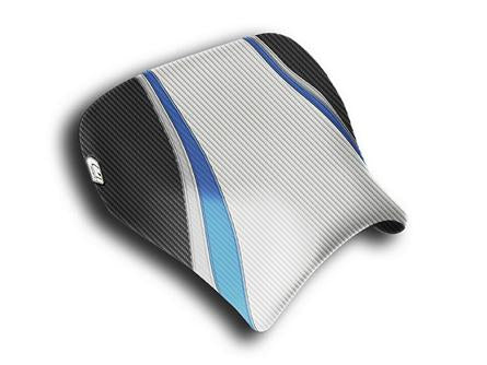 LUIMOTO TEAM SUZUKI RIDER SEAT COVERS FOR SUZUKI GSX-R 1000 01-02