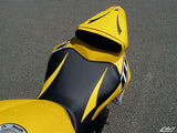 LUIMOTO RAVEN EDITION PASSANGER SEAT COVERS FOR YAMAHA R6 06-07