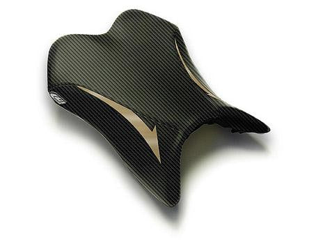 LUIMOTO RAVEN EDITION RIDER SEAT COVERS FOR YAMAHA R1 07-08