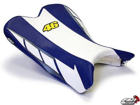 LUIMOTO LIMITED EDITION RIDER SEAT COVERS FOR YAMAHA R1 09-14