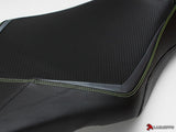 LUIMOTO FIGHTER RIDER SEAT COVERS FOR YAMAHA FZ-09 MT-09 14-18