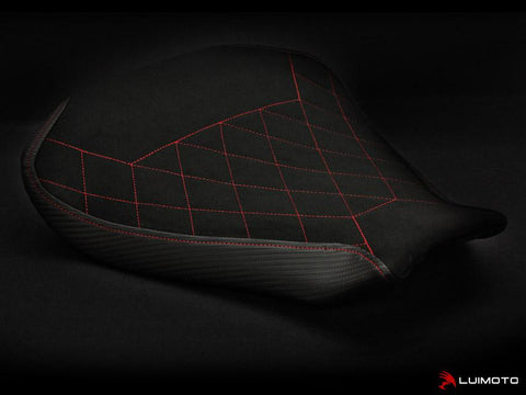 LUIMOTO DIAMOND EDITION RIDER SEAT COVERS FOR MV AGUSTA F4 10-18