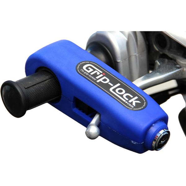 GRIP-LOCK BLUE HANDLEBAR GRIP LOCK
