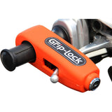 GRIP-LOCK ORANGE HANDLEBAR GRIP LOCK