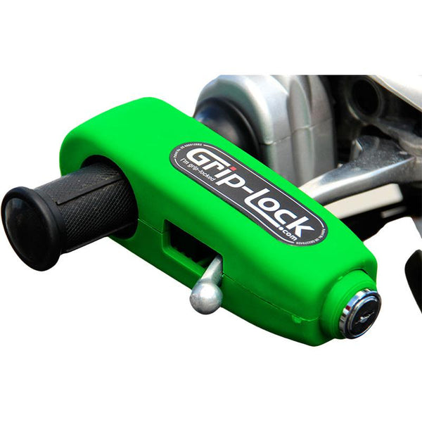 GRIP-LOCK GREEN HANDLEBAR GRIP LOCK
