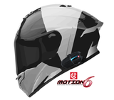 UCLEAR MOTION 6 BLUETOOTH HELMET AUDIO SYSTEM – SINGLE KIT