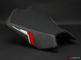 LUIMOTO TEAM ITALIA SUEDE RIDER SEAT COVERS FOR APRILIA TUONO 11-18