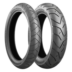 BRIDGESTONE BATTLAX ADVENTURE A40 PAIR DEAL with FREE BRS-1 RIDING SHOES