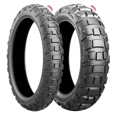 BRIDGESTONE AX41 ADVENTURECROSS COMBO DEAL 100/90-19 + 150/70B17