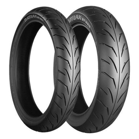 BRIDGESTONE BT39 COMBO DEAL 110/70-17 + 130/70-17