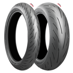 BRIDGESTONE S22 COMBO DEAL 120/70ZR17 + 180/55ZR17