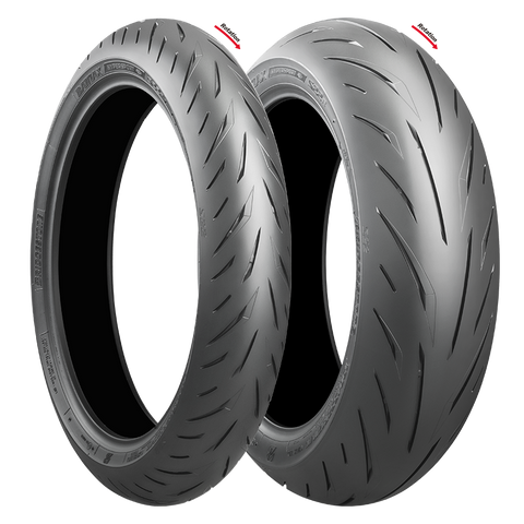 BRIDGESTONE S22 COMBO DEAL 120/70ZR17 + 160/60ZR17