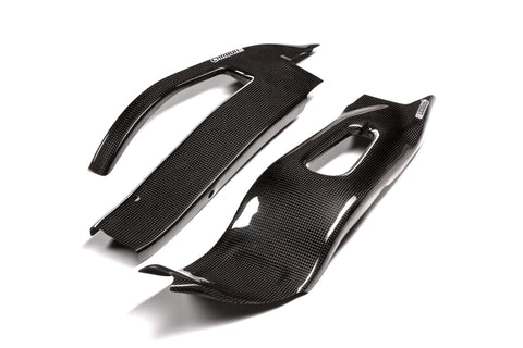 CARBON2RACE HONDA CBR 1000 RR 2004-2007 CARBON FIBER SWINGARM COVERS SC57