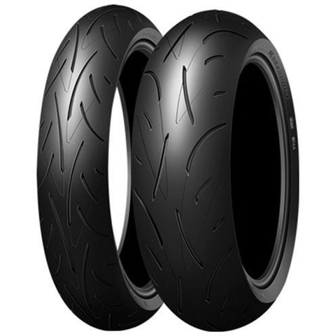 DUNLOP ROADSPORT COMBO DEAL 130/70ZR16 + 180/55ZR17 WITH BONUS FOBO TYRE MONITORS