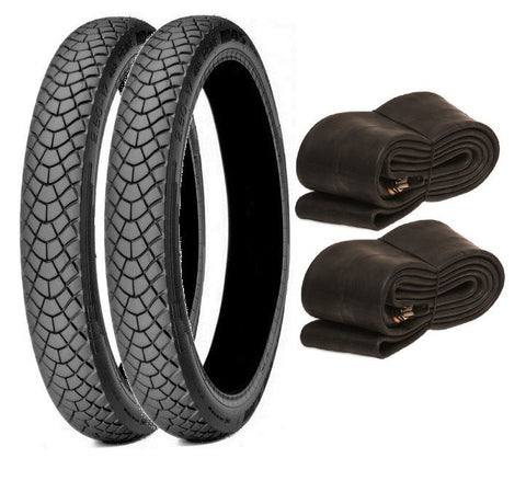 MICHELIN 2.75-17 M45 POSTIE BIKE TYRE/TUBE TWIN SET